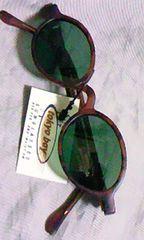 ファッションサングラス オーバル未使用品デッドストック プレッピー tokyo bay