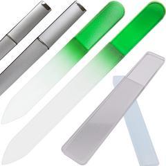 爪やすり ガラス製 ケース付 大小2個セット