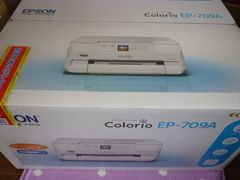 EPSON Colorio インクジェット複合機プリンター EP-709A