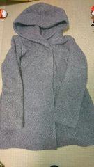 即決☆フリーサイズ☆グレーのコート