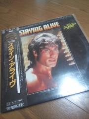 STAYIN.ALIVE/        THE.BEE.GEES【LP】