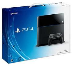 即決 PlayStation4本体 ジェットブラック 500GB CUH-1100AB01 付属品有