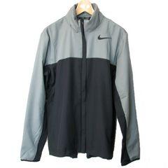 大きいサイズ新品XL★ナイキ灰黒ウィンドジャケット定価8640円