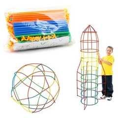 パイプパズル 100ピース 立体パズル 知育玩具