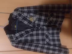 新品タグ付き★チェック柄のジャケット/Lサイズ