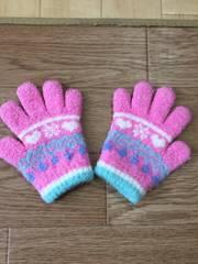 ピンク手袋