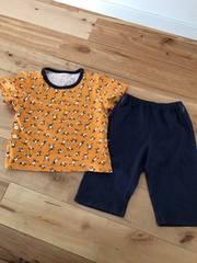 UNIQLOキッズ100半袖パジャマひつじのショーン