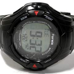 美品【980円〜】FORMIA タフなデザイン 大型メンズ腕時計
