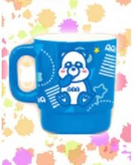 AAA え〜パンダ メラミン マグカップ 【與真司郎】青