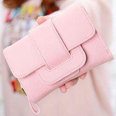 レディース 三つ折り 財布 ピンク 送料込み