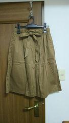 KBF ウエストリボンスカート 新品タグ付き