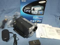 サムスン 8mビデオカメラ HI8 ほぼ新品!Samsung SCL901