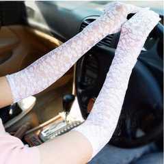 腕・アームカバーロング手袋 紫外線/UVカット日除け日焼け防止