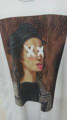 DOMREBEL RAPHAEL Tシャツ ドムレベル オニキス XL ホワイト