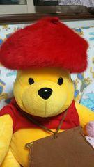 赤*シンプル*ベレー帽*カジュアル