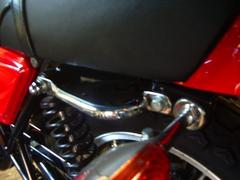 [803]Z400FXZ550FX用新品メッキサイドグリップ