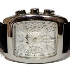 美品 1スタ★HENRI-LUC CHAPUIS【クロノグラフ】メンズ腕時計