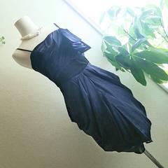 スコットクラブ♪新品未使用美品♪ブラパッド付きキャミソールワンピースドレス