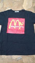 Tシャツ黒マクドナルド