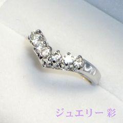 輝きはダイヤモンド級!豪華立爪シグニティ社スーパーCZリング 17号 送料無料