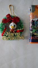 新品☆ディジークリスマスリースキーホルダー♪再々値下げ