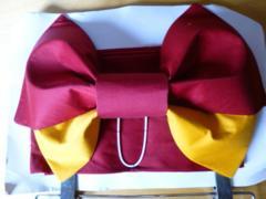 作り帯レディース赤リボン黄色フリー浴衣女子新品格安
