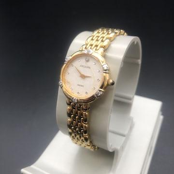 即決 SEIKO セイコー EXCELINE 腕時計 ゴールド