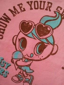 新品同様デイジーラバーズピンク長袖Tシャツ120
