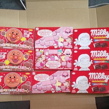 チョコレート各3箱計9箱