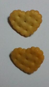 ハート型クッキー?ビスケット★ピアスQーpot好きスィーツ