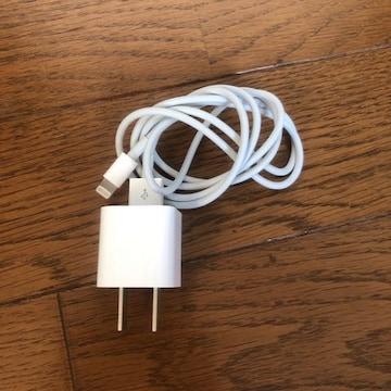 正規品 Apple アップル iPhone ライトニング端子 ACアダプタ