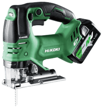 HiKOKI コードレスジグソー CJ36DA(XP) 電池サービス