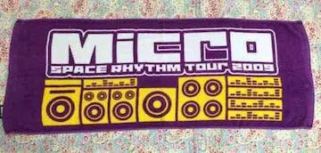 Micro【SPACE RHYTHM Tour 2009 】ツアータオル