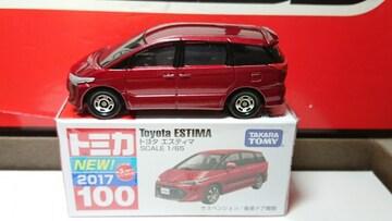 ★赤箱トミカ100★トヨタ エスティマ★