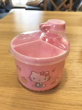 新品 ハローキティ ミルクケース ピンク