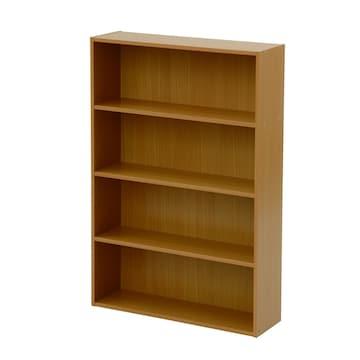 文庫本収納ラック 本棚カラーボックス ナチュラル