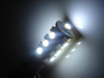 激照!T10型SMD13連LEDウェッジバルブ ホワイト