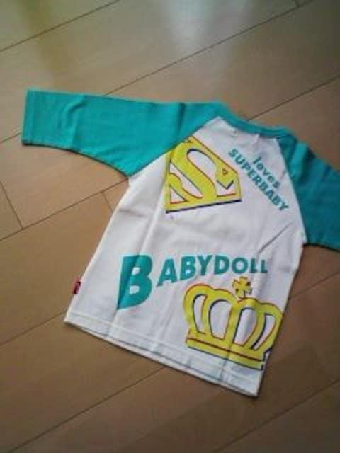 七分袖Tシャツ100エメグリSベビBABYDOLLベビードールベビド < ブランドの