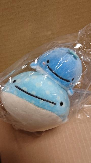 じんべえさん(ブルブルぬいぐるみ/シジンベエサンとマイゴノコクジラ)未使用  < おもちゃの