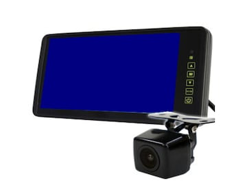 24V9インチバックミラーモニター+24Vバックカメラ