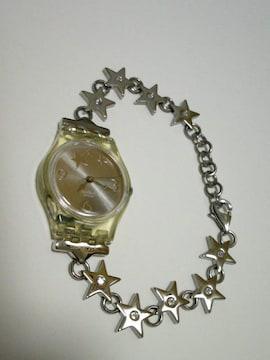 swatch(スウォッチ) 星モチーフ ブレスレット型腕時計