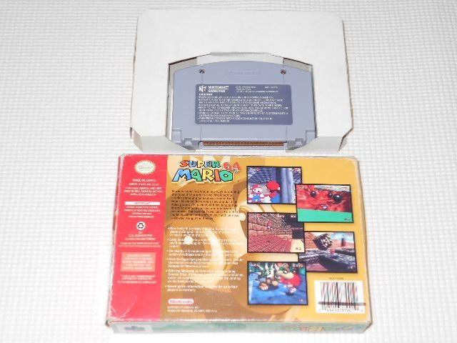 N64★SUPER MARIO 64 海外版(国内本体動作不可) < ゲーム本体/ソフトの