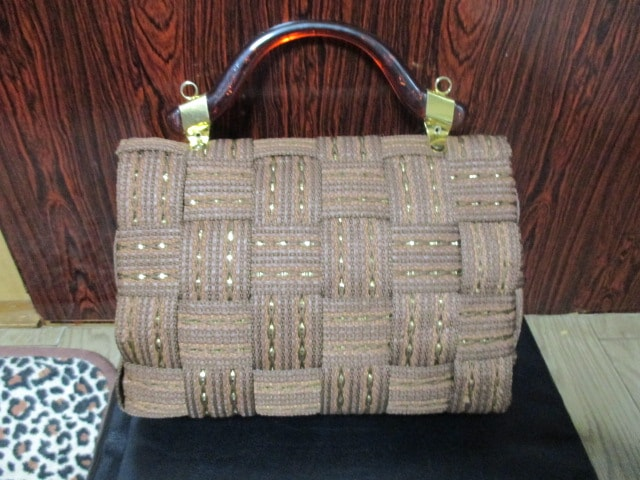 ヴィンテージ SIENA イタリア製 ハンドバッグ ショルダーバッグ < 女性ファッションの