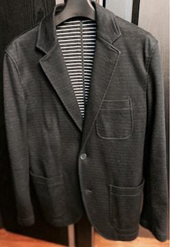 美品ラコステLACOSTEビジネス3ジャケットsネイビー紺色