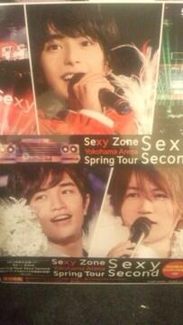 激レア!☆SexyZone/SpringTourSexySecon☆d初回盤/DVD2枚組+トレカ5枚