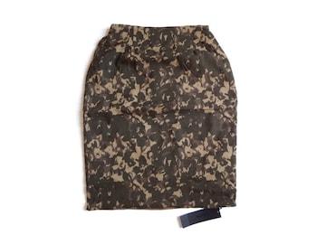新品 定価5500円 アンデミュウ リバーシブル タイト スカート