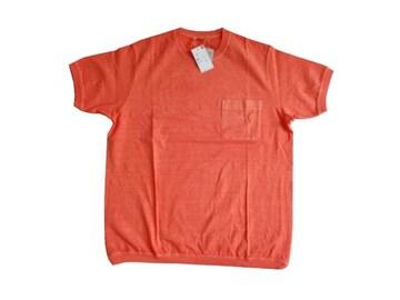 新品  UNIQLO ユニクロ ウォッシュ クルーネック Tシャツ メンズ