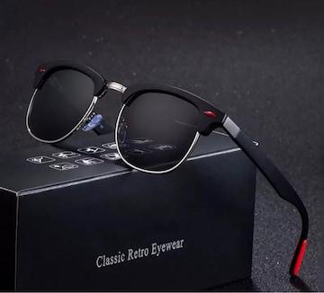 サングラス ミラー サーモント ミラーレンズ UV400 ブラック