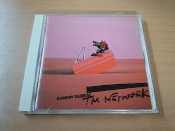 TM NETWORK CD「RAINBOW RAINBOW」TMN小室哲哉●
