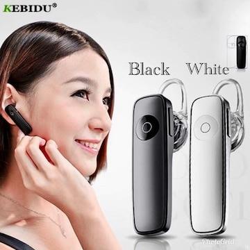 Bluetooth イヤホン ワイヤレスイヤホン  iPhone 方耳 黒